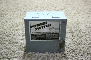 USED MOTORHOME POWER SWITCH AUTOMATIC TRANSFER SWITCH TS-30AC RV PARTS FOR SALE