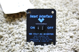 USED RV PARTS HEART INTERFACE INVERTER SWITCH FOR SALE
