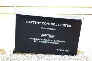 USED R.V. CUSTOM BATTERY CONTROL CENTER MOTORHOME PARTS FOR SALE