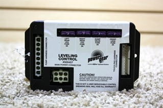 USED MOTORHOME POWER GEAR LEVELING CONTROL BOARD 500457 RV PARTS FOR SALE