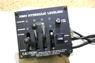 USED MOTORHOME HWH HYDRAULIC LEVELING JOYSTICK RV PARTS FOR SALE
