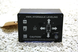 USED HWH HYDRAULIC LEVELING CONTROL TOUCH PAD AP0425 RV PARTS FOR SALE