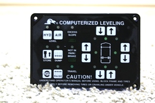 USED BEAVER COMPUTERIZED LEVELING TOUCH PAD FOR SALE