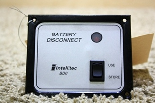 USED MOTORHOME BATTERY DISCONNECT INTELLITEC BD0 FOR SALE