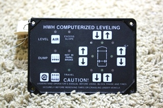 USED HWH COMPUTERIZED LEVELING TOUCH PAD AP8445 RV PARTS FOR SALE