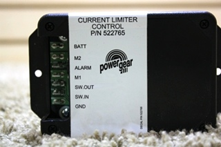 RV POWER GEAR CURRENT LIMITER CONTROL P/N: 522765 MOTORHOME PARTS FOR SALE