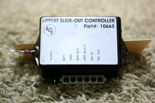 USED LIPPERT RV SLIDE OUT CONTROLLER 10665 MOTORHOME PARTS FOR SALE