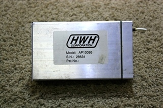 USED RV HWH LEVELING CONTROL BOX AP10086 MOTORHOME PARTS FOR SALE