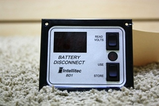 USED RV INTELLITEC BATTERY DISCONNECT SWITCH BD1 MOTORHOME PARTS FOR SALE