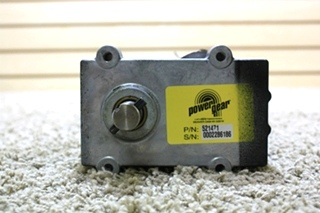 USED RV POWER GEAR SLIDE OUT MOTOR 521471 MOTORHOME PARTS FOR SALE
