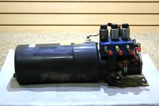 USED POWER GEAR 0500507 MOTORHOME HYDRAULIC PUMP FOR SALE