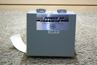 USED RV POWER 50 TRANSFER - SHORELINE TRANSFER SWITCH ES50M-65N FOR SALE
