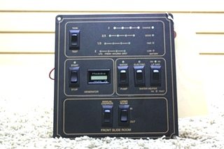 USED MOTORHOME TANK INDICATOR PANEL RV PARTS FOR SALE