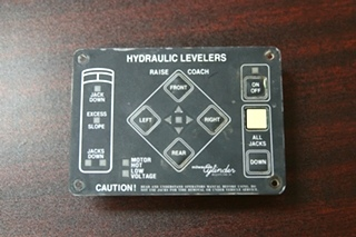 USED MILWAUKEE CYLINDER HYDRAULIC LEVELER CONTROLLER INTELLITEC PN: 00-00309-000