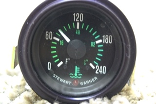 USED WATER TEMPERATURE RV DASH GAUGE 0920-NN1-004 FOR SALE
