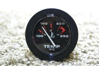 USED RV TEMPERATURE DASH GAUGE 57914 MOTORHOME PARTS FOR SALE
