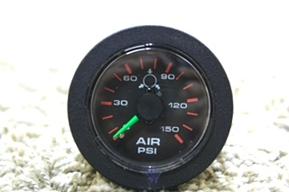 USED MOTORHOME AIR PRESSURE GAUGE 10400 RV PARTS FOR SALE