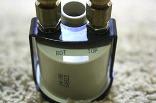 USED MOTORHOME AIR PRESSURE GAUGE 10400 RV PARTS FOR SALE