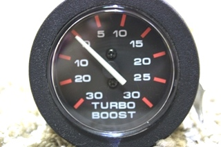 USED TURBO BOOST MOTORHOME DASH GAUGE 10411 FOR SALE