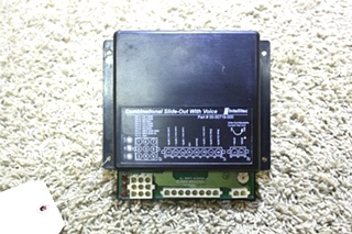 USED MOTORHOME INTELLITEC COMBINATIONAL SLIDE OUT CONTROL BOARD WITH VOICE 00-00719-00 FOR SALE
