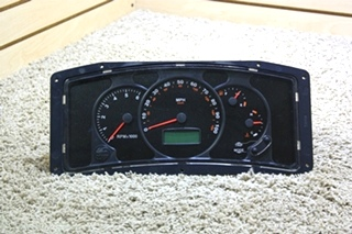 USED RV WORKHORSE CHASSIS W0004987 DASH CLUSTER FOR SALE