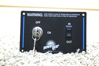 USED MOTORHOME POWER GEAR SLIDE OUT KEY SWITCH CONTROL FOR SALE