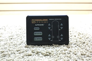 USED RV EQUALIZER SYSTEMS AUTOLEVEL 1934-E-NULL TOUCH PAD FOR SALE
