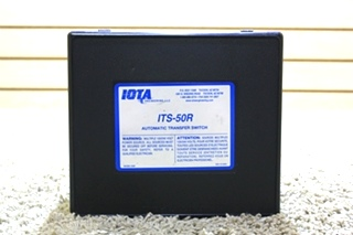 USED IOTA MOTORHOME ITS-50R AUTOMATIC TRANSFER SWITCH FOR SALE