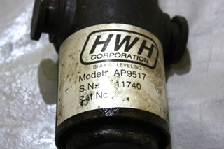 USED HWH MOTORHOME LEVELING JACK CYLINDER AP9517 RV PARTS FOR SALE