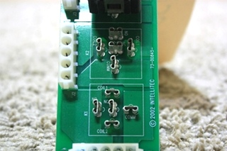 USED INTELLITEC 4-RELAY PCB 84-00845-AX1 RV PARTS FOR SALE