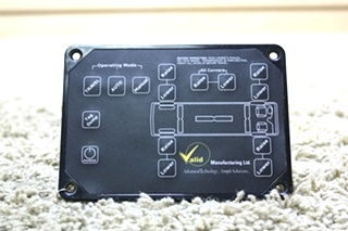 USED VALID LEVELING TOUCH PAD VTL02A015-1 RV PARTS FOR SALE