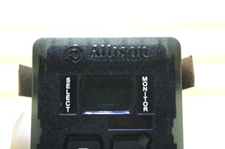 USED RV ALLISON SHIFT SELECTOR TOUCH PAD 29546170 MOTORHOME PARTS FOR SALE
