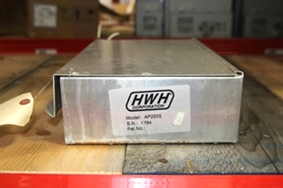 USED RV/MOTORHOME HWH CORP. CONTROL BOX MODEL: AP2205 SN: 1784