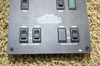 USED RV KIB TANK MONITOR AND SWITCH PANEL K26276WB FOR SALE