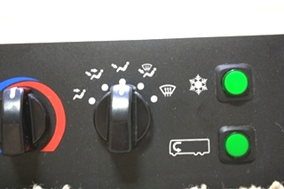 USED RV DASH A/C CONTROLS 058-00374 FOR SALE