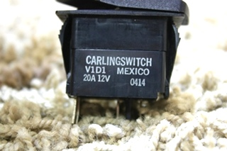 USED CARLING SWITCH LIGHT V1D1 MOTORHOME SWITCH FOR SALE