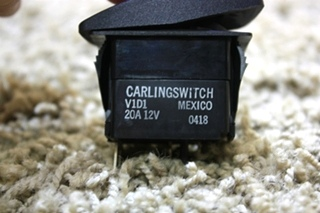 USED CARLINGSWITCH RV LIGHT SWITCH FOR SALE