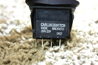 USED MOTORHOME RIGHT HAND SHADE DASH SWITCH FOR SALE