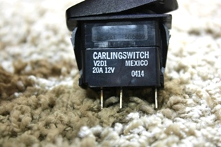 USED RV BATTERY CARLINGSWITCH DASH SWITCH V2D1 FOR SALE