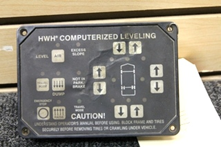 HWH COMPUTERIZED LEVELING CONTROLLER PN: AP24249