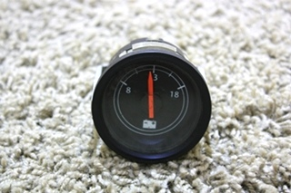 USED FREIGHTLINER MOTORHOME VOLTMETER GAUGE W22-00007-010 FOR SALE