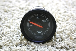 USED FREIGHTLINER RV OIL PRESSURE GAUGE W22-00005-017 FOR SALE