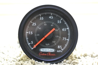 USED MOTORHOME FREIGHTLINER CUSTOM CHASSIS SPEEDOMETER W22-00020-000 FOR SALE