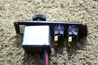 USED RV WIPER CONTROL SWITCH - ICC FLASH - BATTERY BOOST SWITCH PANEL NM01477 FOR SALE