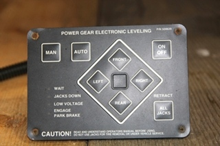 USED RV/MOTORHOME POWER GEAR PFF ELECTRONIC LEVELING PN: 500629
