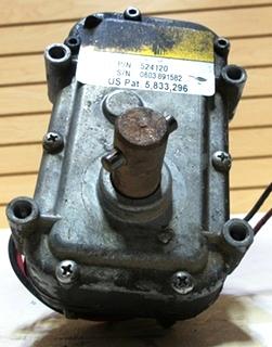 USED POWER GEAR SLIDE MOTOR P/N 524120 FOR SALE