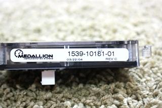 USED RV MEDALLION 1539-10181-01 DASH DISPLAY FOR SALE