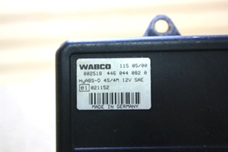 USED RV WABCO ABS CONTROL BOARD 4460440820 MOTORHOME PARTS FOR SALE