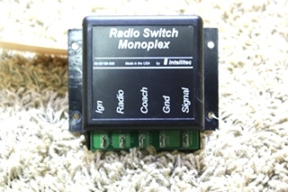 USED RV RADIO SWITCH MONOPLEX BY INTELLITEC 00-00189-000 FOR SALE