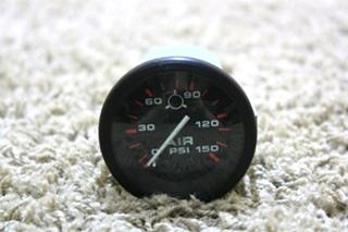 USED MOTORHOME AIR PSI DASH GAUGE 62841 FOR SALE